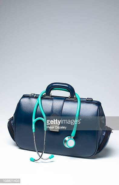 Doctors bag with copy space