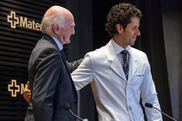 Doctors gerard saillant a leading orthopedist surgeon l and doctors gerard saillant a leading orthopedist surgeon l and brazilian national team m4hsunfo Images