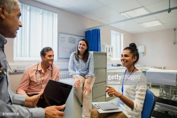 Doctors have a Staff Meeting