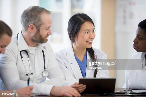 Doctors Having a Team Meeting