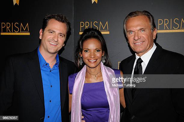 Doctors James Sears Lisa Masterson and Andrew P Ordon arrive at the 2010 PRISM Awards held at the Beverly Hills Hotel on April 22 2010 in Beverly...
