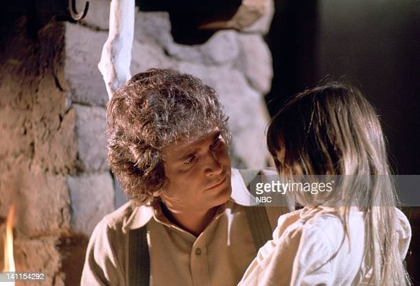 PRAIRIE Doctor's Lady Episode 17 Aired Pictured Michael Landon as Charles Philip Ingalls Lindsay or Sydney Greenbush as Carrie Ingalls Photo by NBCU...