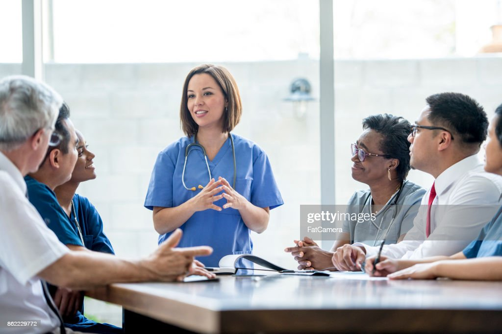Doctors Meeting : Stock Photo
