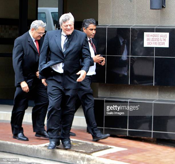 Doctors Neil Christopher John Robbs and Mahadev Naidoo former members of staff at the St Augustine Hospital who are accused of participating in a...