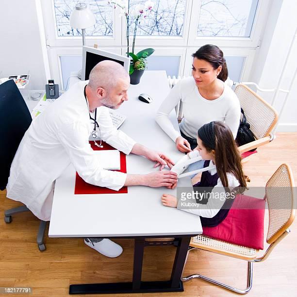 Doctor's office scene