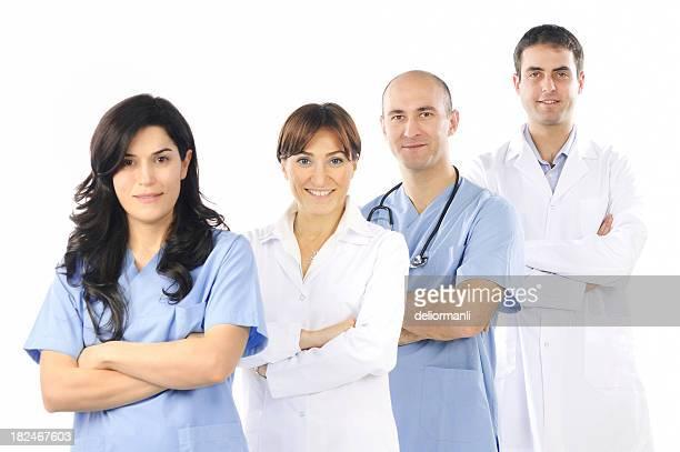i medici - casacca foto e immagini stock