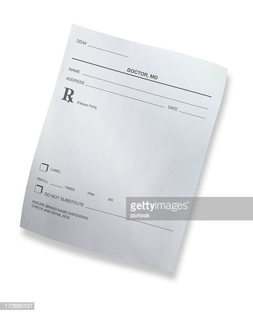 Doctor's Prescription with Path