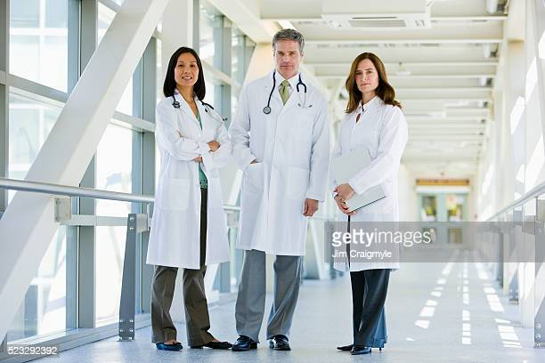Doctors standing together