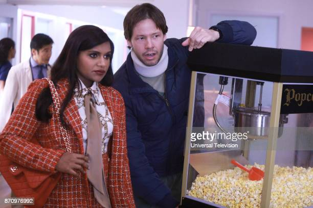 PROJECT 'Doctors Without Boundaries' Episode 608 Pictured Mindy Kaling as Mindy Lahiri Ike Barinholtz as Morgan Tookers