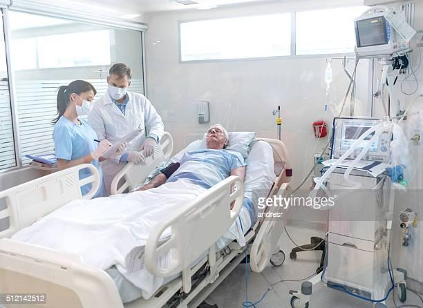 Ärzten im Krankenhaus