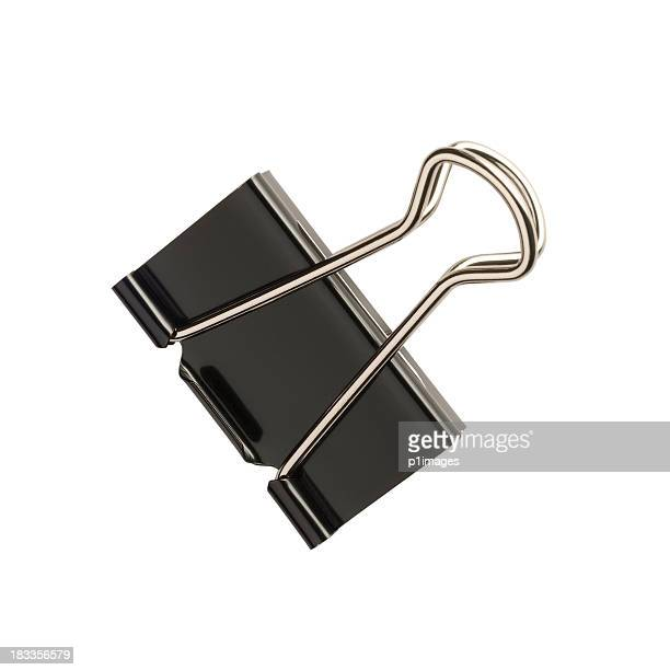 document clip with clipping path - paper clips stock photos and pictures