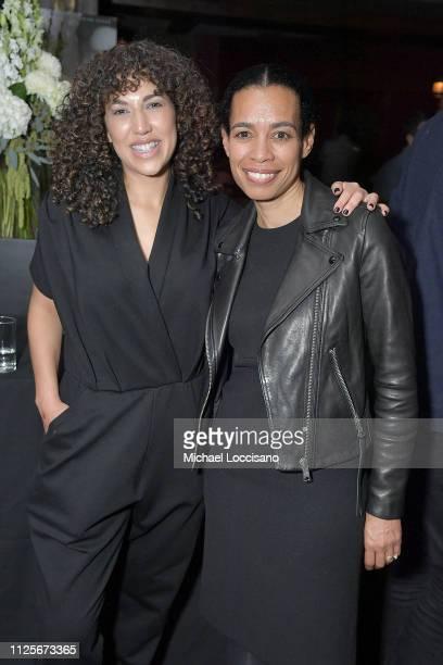 Documentary Family Programming VP Sara Rodriguez and HBO Documentary Films SVP Jackie Glover attend the HBO Documentary Films Party during Sundance...