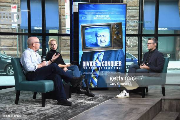 Documentary film director Alexis Bloom and producer Alex Gibney visit Build Series with moderator Ricky Camilleri to discuss the film 'Divide and...