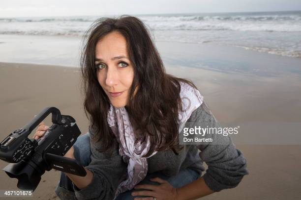 Documentary film maker Gabriela Cowperthwaite is photographed for Los Angeles Times on November 19, 2013 in Los Angeles, California. PUBLISHED IMAGE....