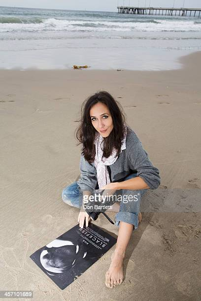 Documentary film maker Gabriela Cowperthwaite is photographed for Los Angeles Times on November 19 2013 in Los Angeles California PUBLISHED IMAGE...