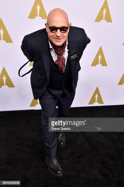 Documentary filmmaker Gianfranco Rosi attends the 89th Annual Academy Awards Nominee Luncheon at The Beverly Hilton Hotel on February 6 2017 in...