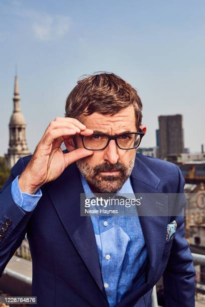 Documentary filmmaker Louis Theroux is photographed for the Daily Mail on August 11 2020 in London England