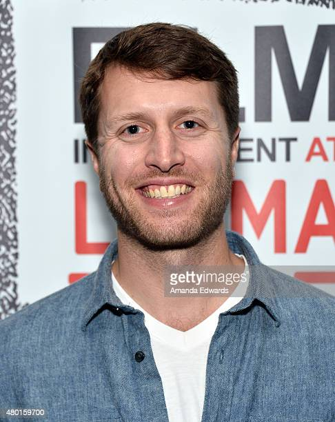 Documentary filmmaker Matthew Heineman attends the Film Independent at LACMA screening of Cartel Land at the Bing Theatre at LACMA on July 9 2015 in...