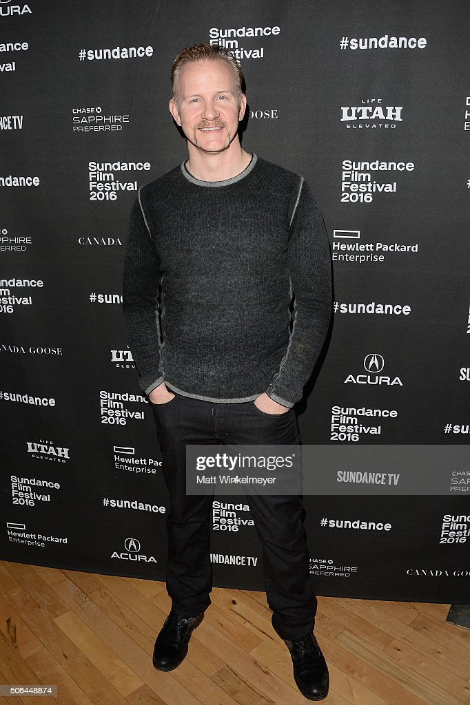 Documentary filmmaker Morgan Spurlock attends the Cinema Cafe during 2016 Sundance Film Festival at Filmmaker Lodge on January 23, 2016 in Park City, Utah.