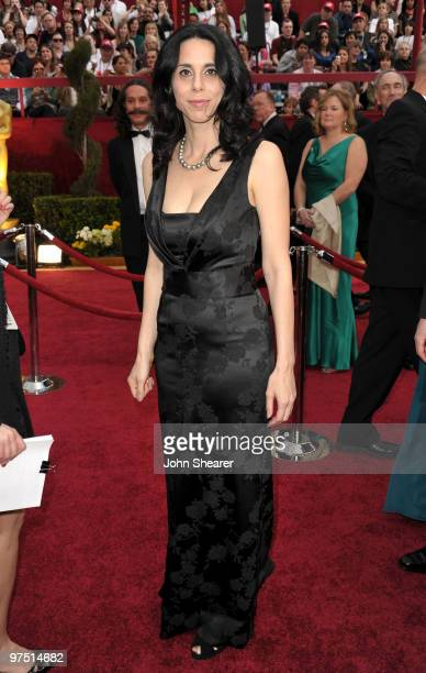 Documentary filmmaker Rebecca Cammisa arrives at the 82nd Annual Academy Awards held at Kodak Theatre on March 7 2010 in Hollywood California