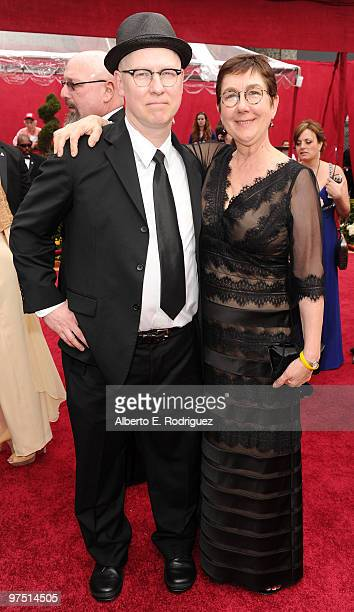 Documentary filmmakers Steven Bognar and Julia Reichert arrive at the 82nd Annual Academy Awards held at Kodak Theatre on March 7 2010 in Hollywood...