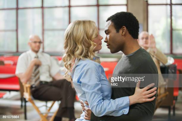 COMMUNITY 'Documentary Filmmaking Redux' Episode 308 Pictured Gillian Jacobs as Britta Donald Glover as Troy