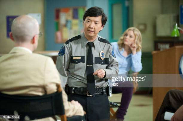 COMMUNITY 'Documentary Filmmaking Redux' Episode 308 Pictured Ken Jeong as Chang Gillian Jacobs as Britta