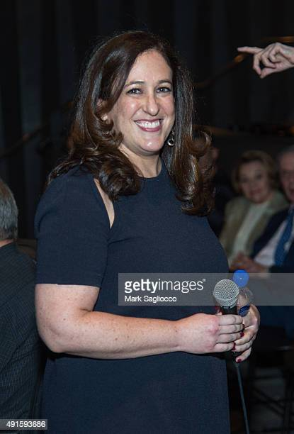 Documentary Producer Melissa Jacobson attends The Witness QA during the 53rd New York Film Festival the Elinor Bunin Munroe Film Center on October 6...