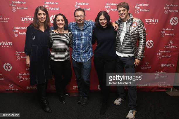 SVP Documentary Progamming at Home Box Office Nancy Abraham producer Bari Pearlman Sundance Film Festival Senior Programmer David Courier director...