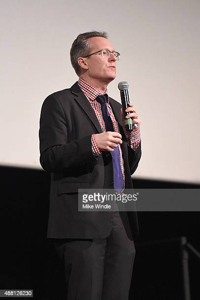 Documentary programmer Thom Powers attends the Janis Little Girl Blue premiere during the 2015 Toronto International Film Festival at Bloor Hot Docs...