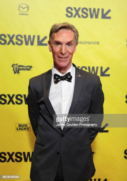 Documentary subject Bill Nye attends the premiere of 'Bill Nye Science Guy' during 2017 SXSW Conference and Festivals at Vimeo on March 12 2017 in...