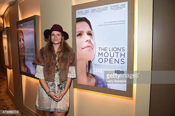 Documentary Subject/Actress Marianna Palka attends A Special Screening Of The HBO Documentary Film 'Lion's Mouth Opens' on May 14 2015 in New York...