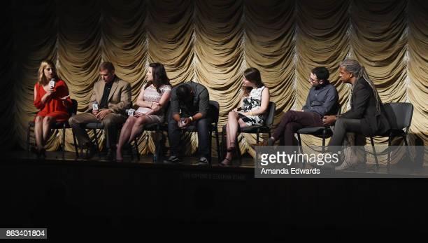 Documentary subjects Gina Erdmann and Tom Erdmann Los Angeles Times political journalist Christina Bellantoni documentary subject Jesus Ruiz director...