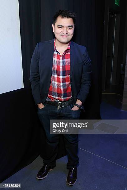 'Documented' director Jose Antonio Vargas poses following a panel discussion at the 17th Annual Savannah Film Festival on October 31 2014 in Savannah...