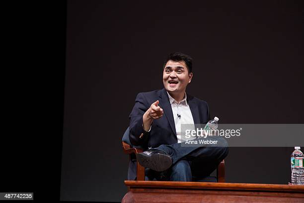'Documented' Writer and Director Jose Antonio Vargas during a Special Screening Of Documented CoHosted By Asia Society And MTV at Asia Society on May...