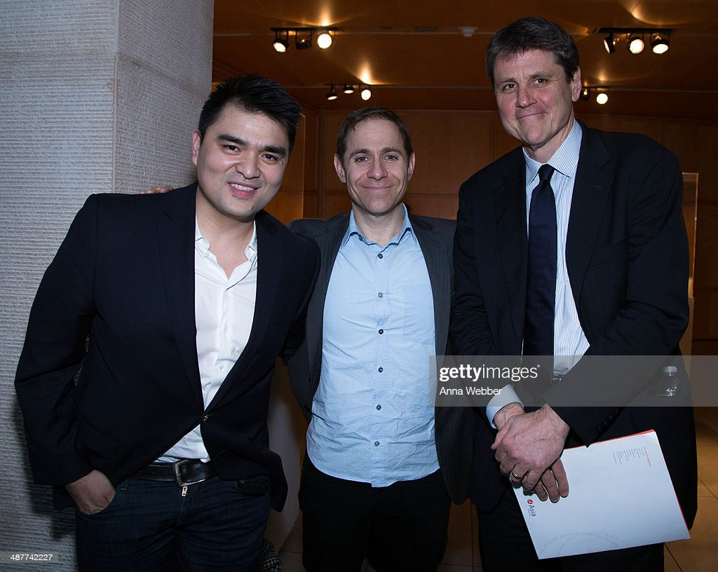 'Documented' Writer and Director Jose Antonio Vargas, President of MTV Stephen Friedman, and the Executive Vice President of the Asian Society Tom Nagorski attend a Special Screening Of 'Documented' Co-Hosted By Asia Society And MTV at Asia Society on May 1, 2014 in New York City.