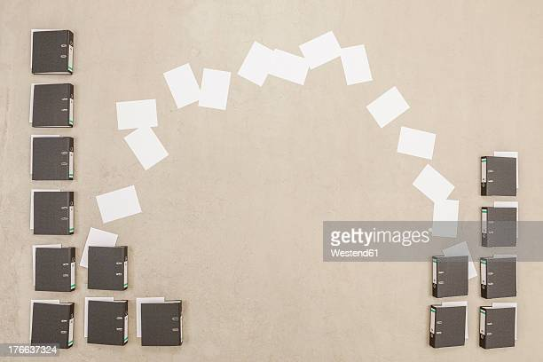 documents getting exchanged from files - exchanging stock pictures, royalty-free photos & images