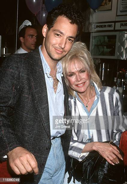 Dodd Darin and Sandra Dee during Love Letters Post Party May 14 1991 at Johnny Rockets Restaurant in Beverly Hills California United States