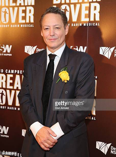 Dodd Darin arrives ahead of the premiere of Dream Lover The Bobby Darin Musical at Lyric Theatre Star City on October 6 2016 in Sydney Australia