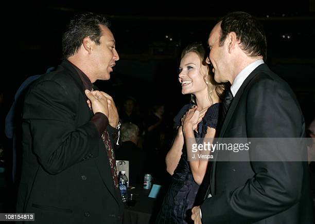 Dodd Darin Kate Bosworth and Kevin Spacey during 2004 AFI Film Festival Beyond the Sea Premiere Opening Night Gala After Party at Wilcox Theater in...