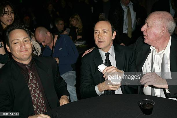 Dodd Darin Kevin Spacey and Steve Blauner during 2004 AFI Film Festival Beyond the Sea Premiere Opening Night Gala After Party at Wilcox Theater in...
