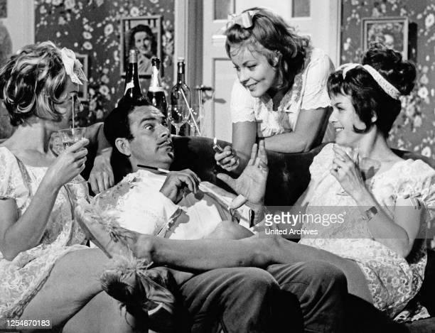 Doddy und die Musketiere, Fernsehfilm, Deutschland 1964, Regie: Arthur Maria Rabenalt, Darsteller: Adrian Hoven, Loni von Friedl .