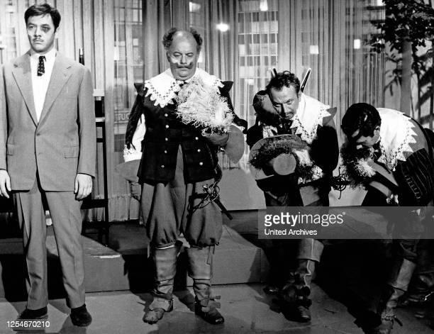 Doddy und die Musketiere Fernsehfilm Deutschland 1964 Regie Arthur Maria Rabenalt Darsteller Gerhard Riedmann Stanislav Ledinek Germain Müller Adrian...