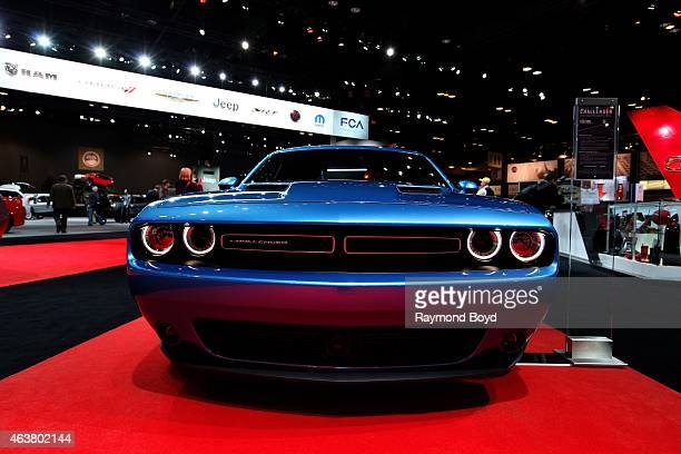 Dodge Challenger at the 107th Annual Chicago Auto Show at McCormick Place in Chicago Illinois on FEBRUARY 13 2015
