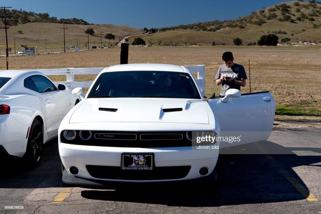 Dodge Challenger Muscle Car In Santa Ysabel California News Photo