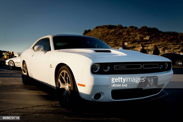 2015 Dodge Challenger Muscle car in the mountains of Southern California