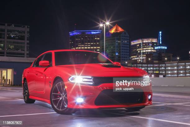 2019 dodge challenger - dodge challenger stock pictures, royalty-free photos & images