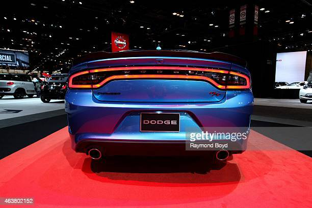 Dodge Charger at the 107th Annual Chicago Auto Show at McCormick Place in Chicago Illinois on FEBRUARY 13 2015