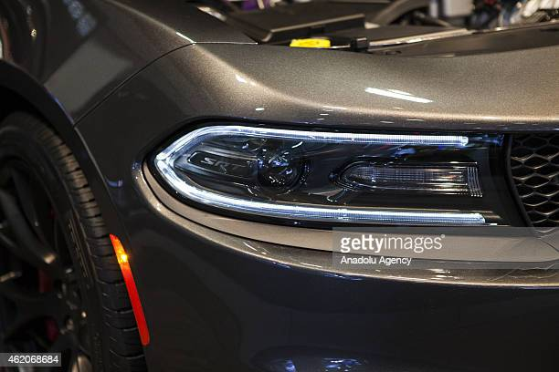 Dodge Charger on display at the 2015 Washington Auto Show in Washington DC on January 23 2015