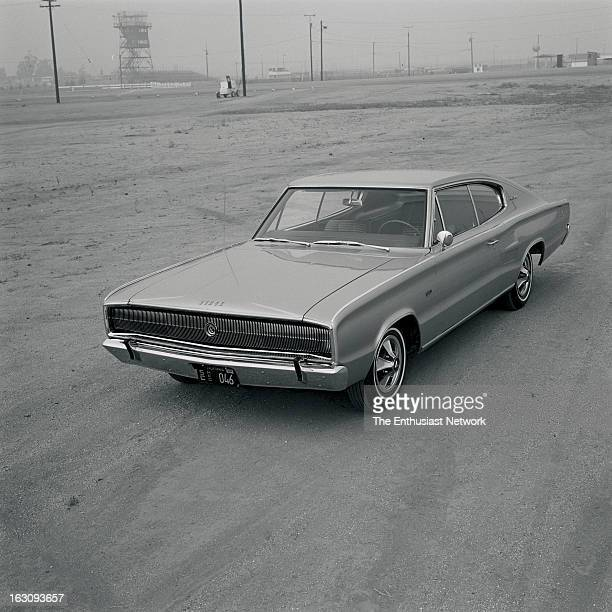Dodge Charger road test for Hot Rod magazine's January 1966 issue Written and photographed by Eric Dahlquist Dodge is on the march with a sleek...